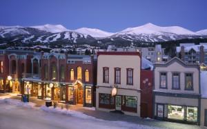 Breckenridge's charming Main Street