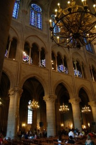 Inside Notre Dame by Emily Gerson