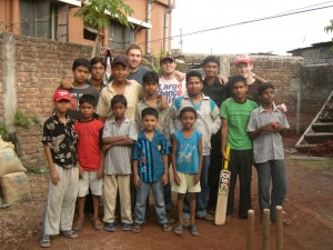 Johnny and friends in Bangladesh