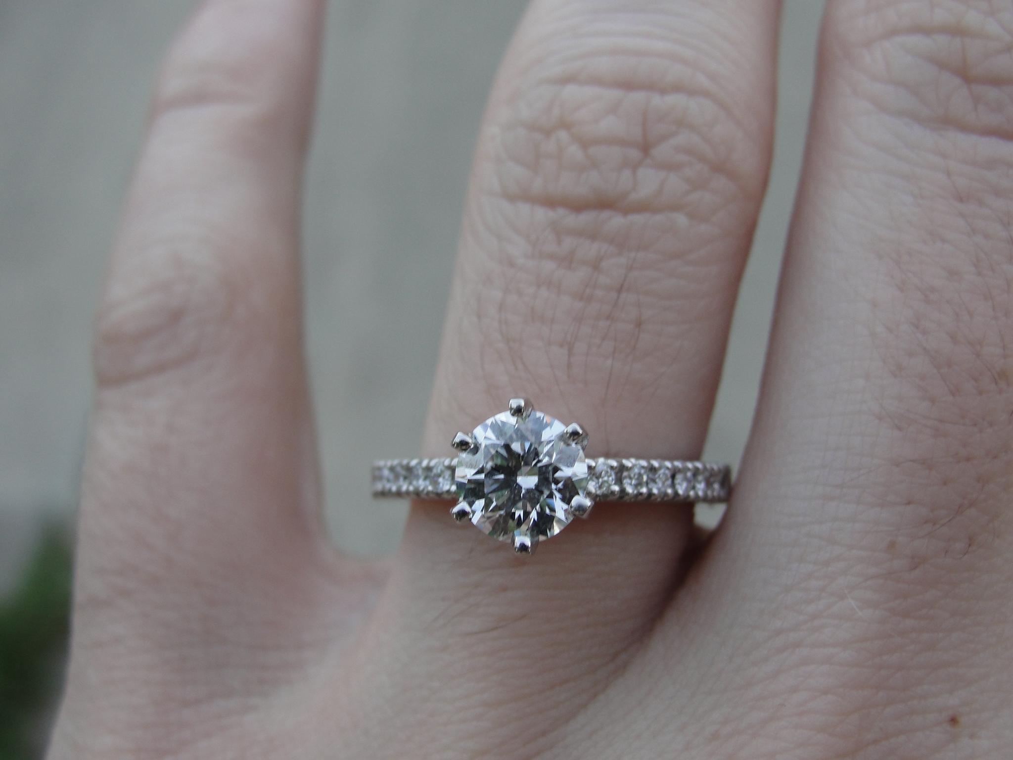 Emily's engagement ring