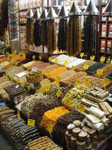 Istanbul spice market 3
