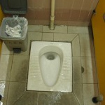 Dreaded squat toilets