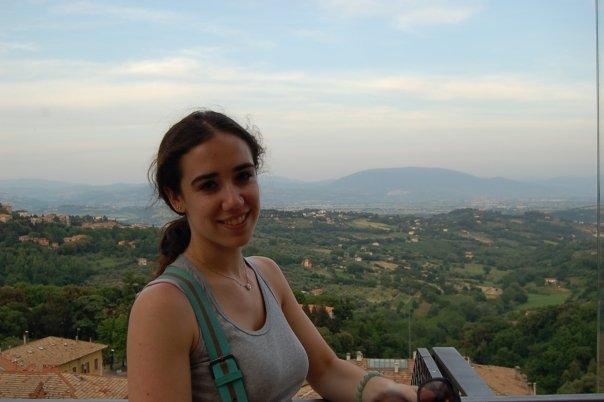 Emily in Perugia, Italy