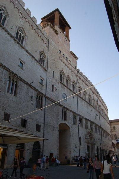 Building in Perugia, Italy