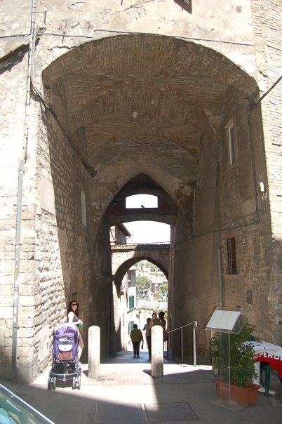More Perugia, Italy arches