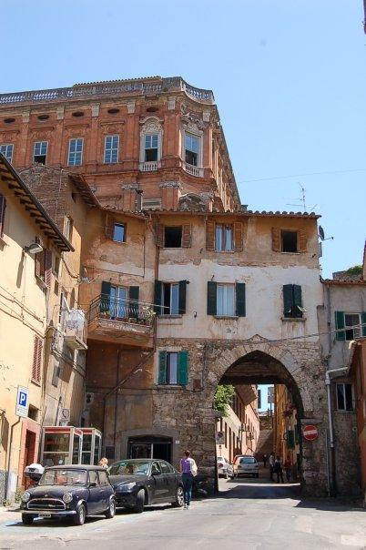 Perugia, Italy arch