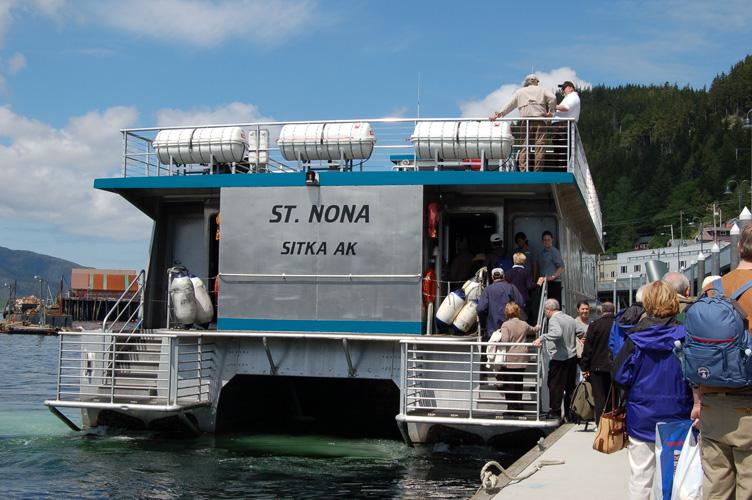 St. Nona boat in Sitka, Alaska
