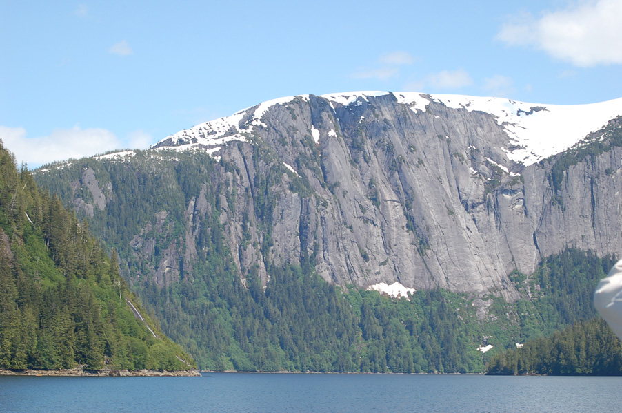 Cliffs on Misty Fjords tour