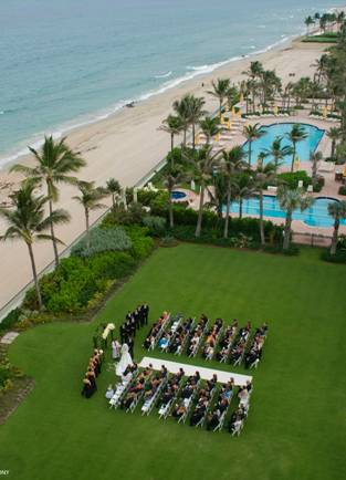 Wedding at The Breakers in Florida