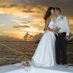 A wedding at Bolongo Bay in the U.S. Virgin Islands