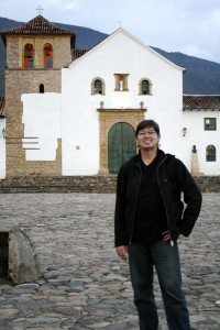 Jeff in Villa de Leyva