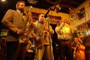 Live jazz at Maison Bourbon