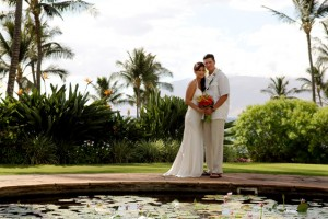 Wedding at Wailea Beach Marriott Resort