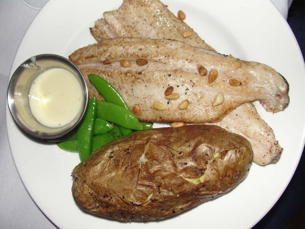 Trout at Bighorn Steakhouse