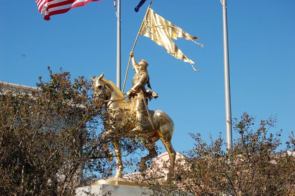 Joan of Arc statue in New Orleans, Louisiana