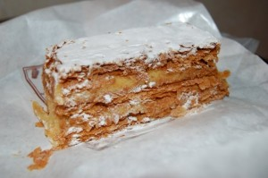 A pastry in Paris