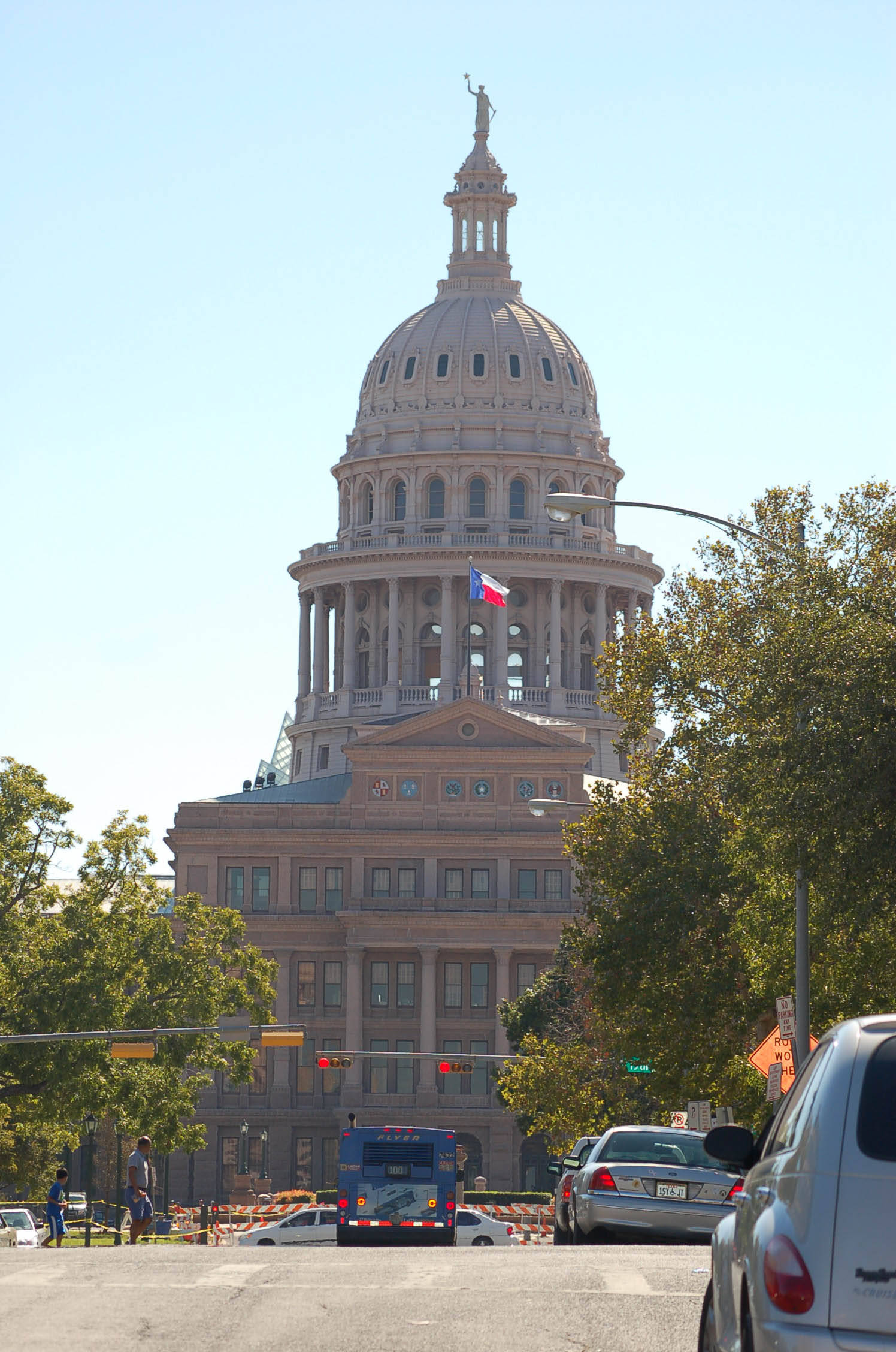 The Capitol Building in Austin