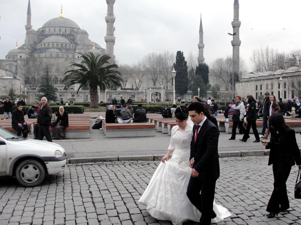 Wedding at Blue Mosque