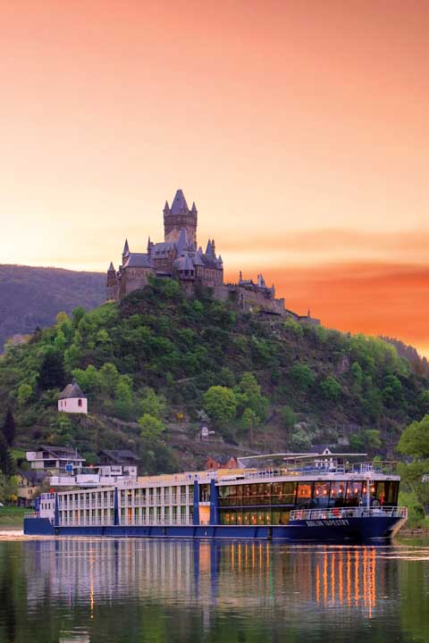 Avalon Waterways in Cochem, Germany