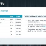 Off & Away bid packages
