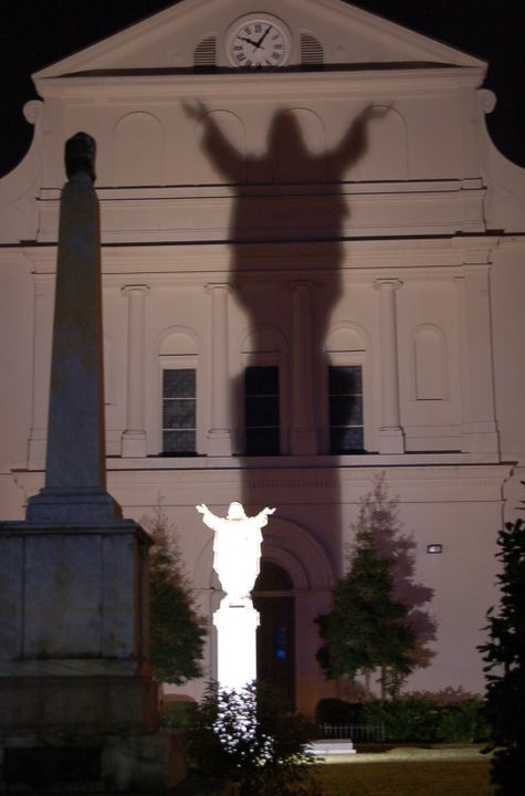 Statue in New Orleans