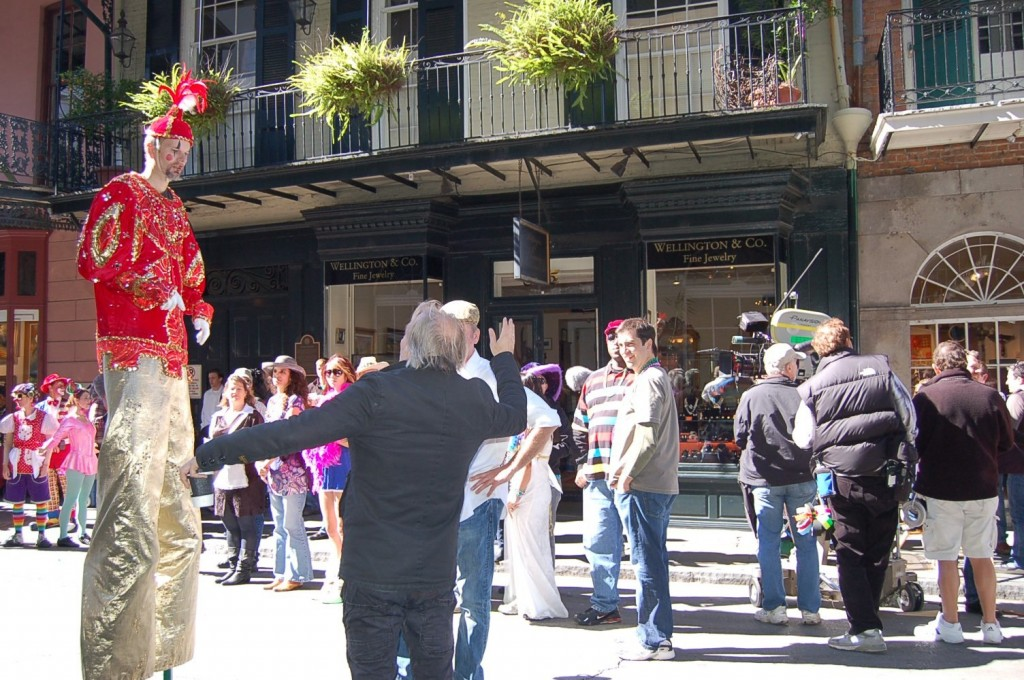 Commercial being filmed in New Orleans