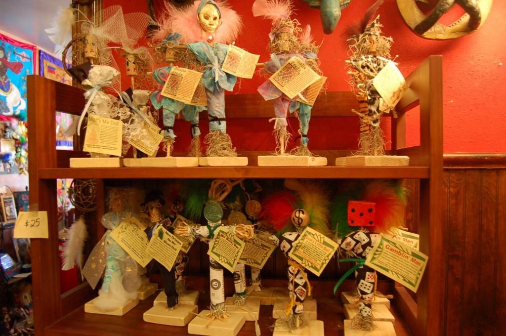 Voodoo dolls in New Orleans