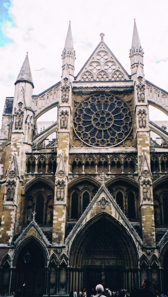 Westminster Abbey in London