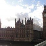 London parliament house and Big Ben