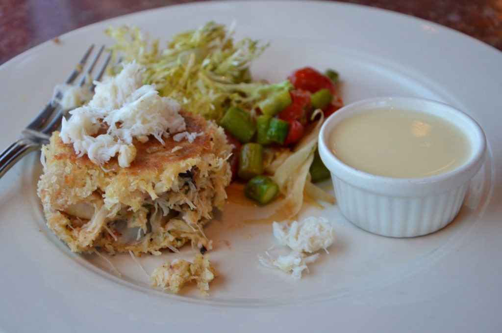 Crab cake at Cutter's Bayhouse in Seattle