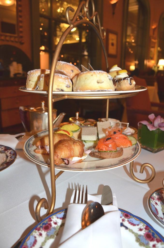Tea at Fairmont Hotel Vancouver