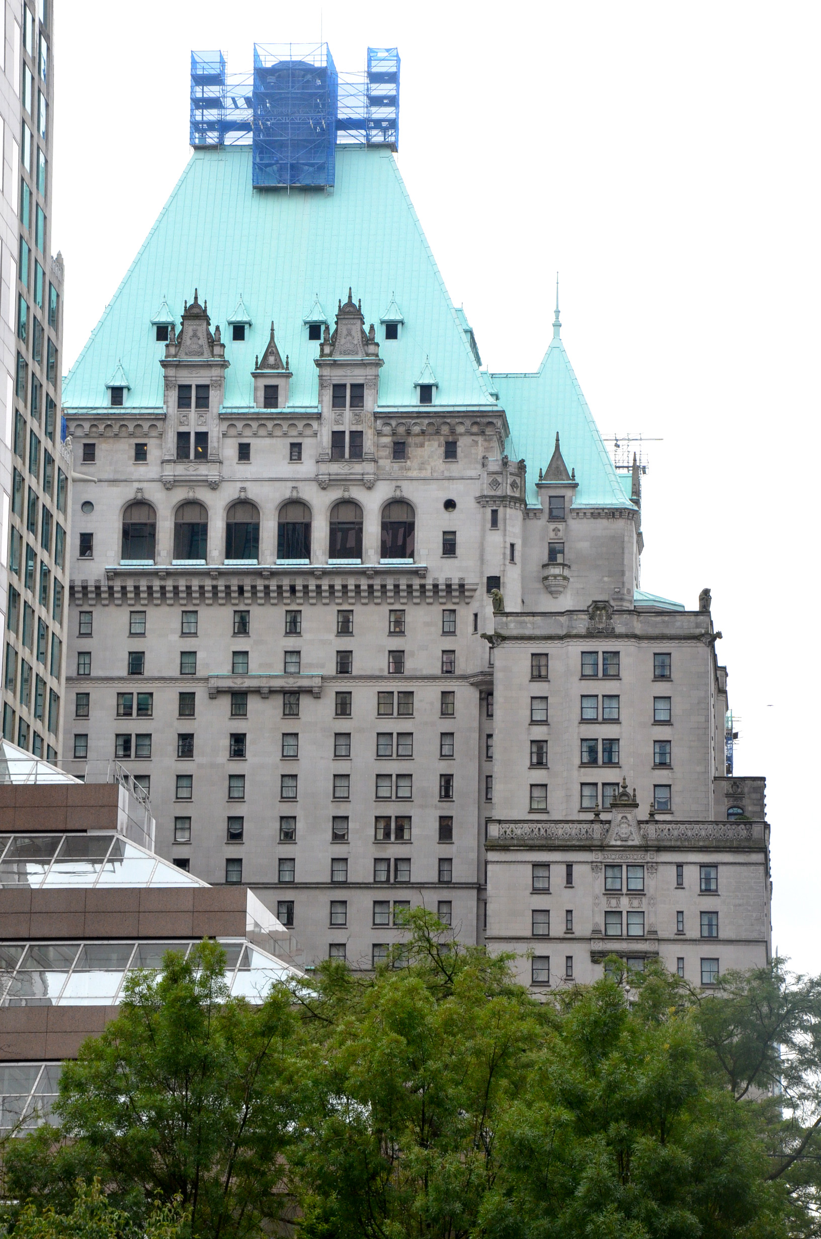 review the fairmont hotel vancouver maiden voyage. Black Bedroom Furniture Sets. Home Design Ideas