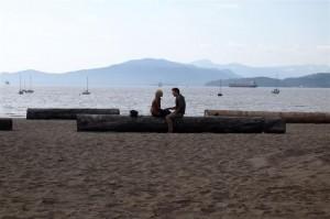 kitsilano beach by natalie taylor
