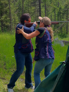 Shooting clay pigeons by TheVacationGals.com