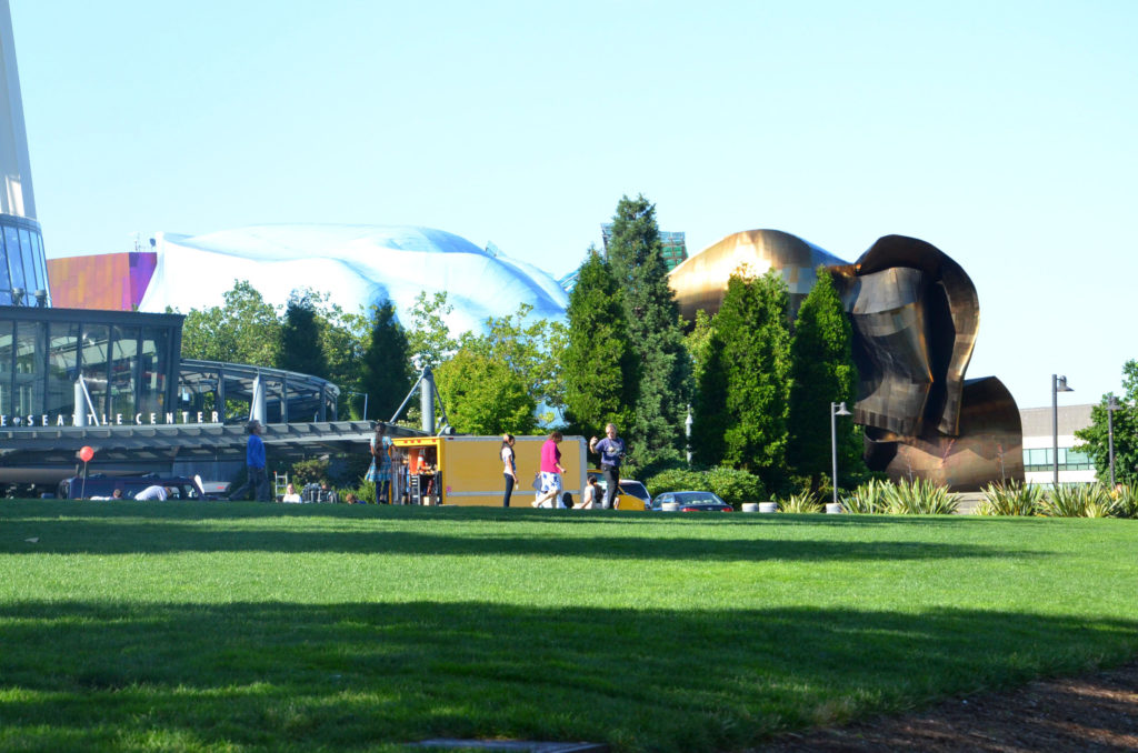 Exterior of Experience Music Project