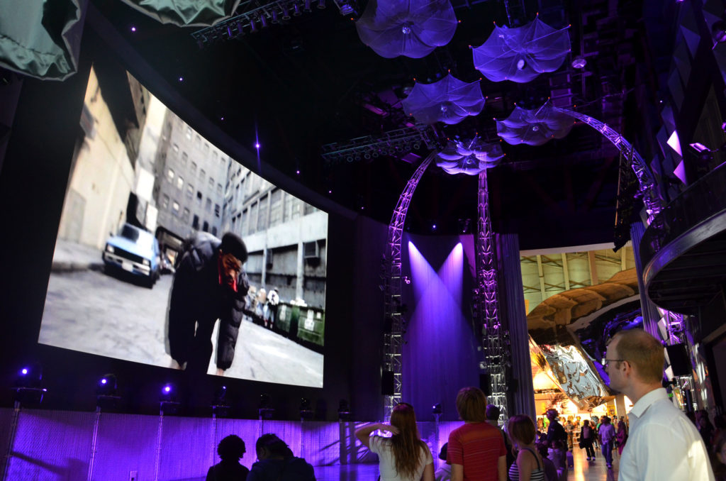 Music video theater in Experience Music Project