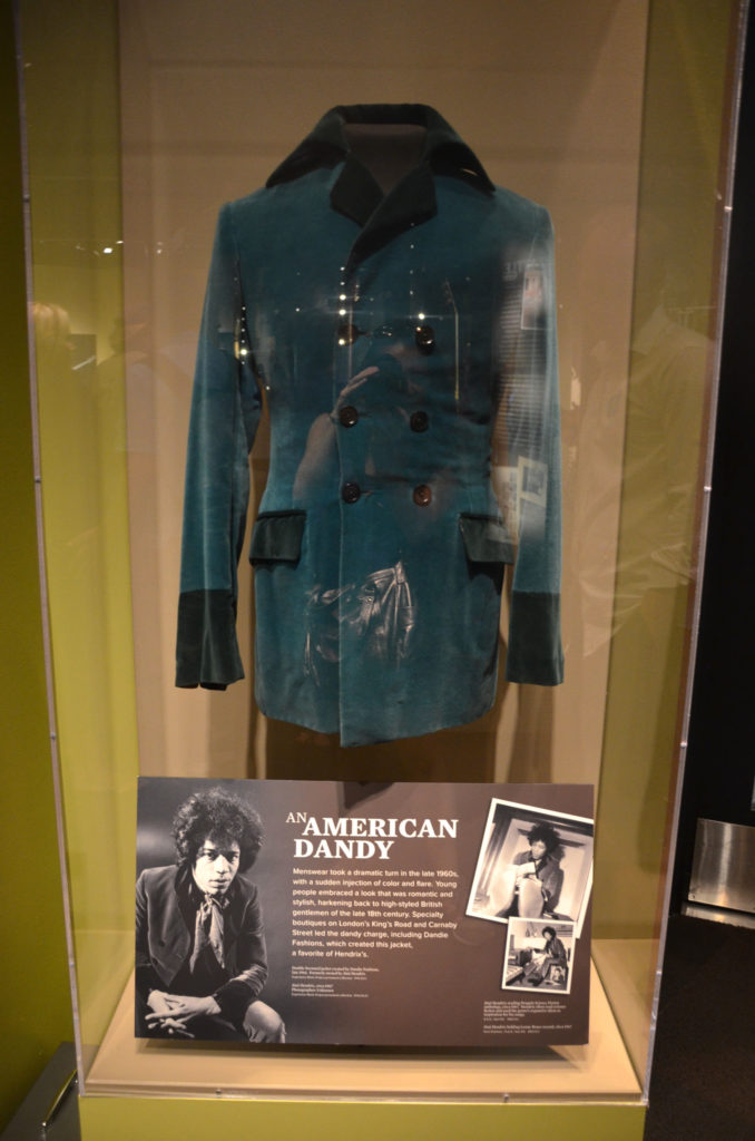 Jimi Hendrix outfit at Experience Music Project