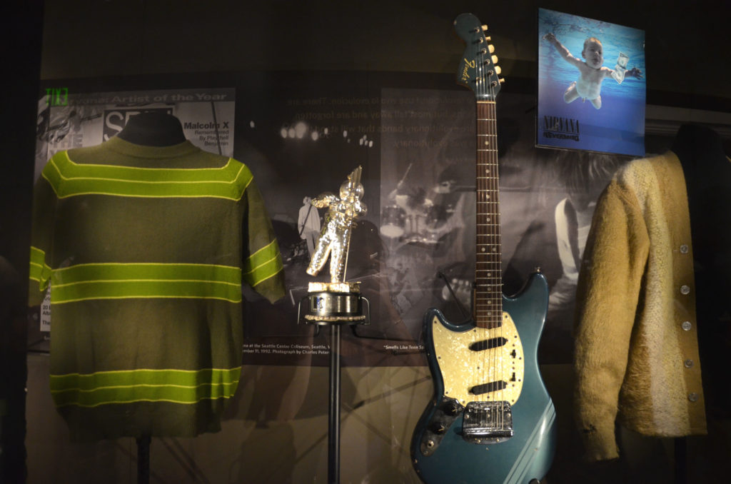 Kurt Cobain's outfit at Experience Music Project