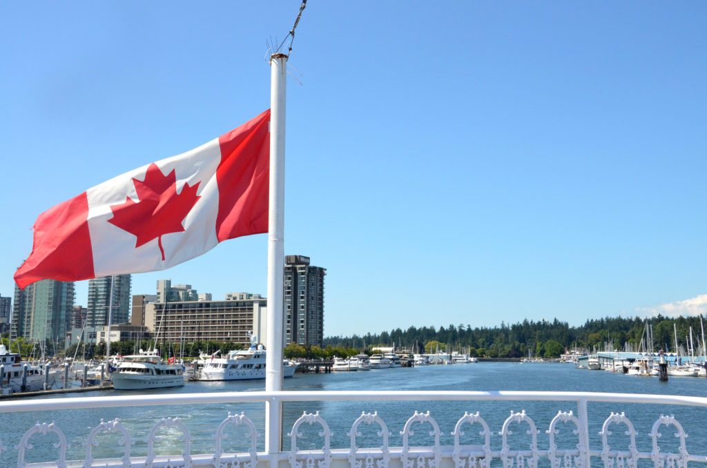 Harbor cruise in Vancouver