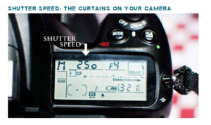 getting out of auto - shutter speed