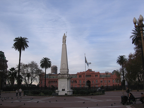 Plaza del Mayo in Buenos Aires, Argentina
