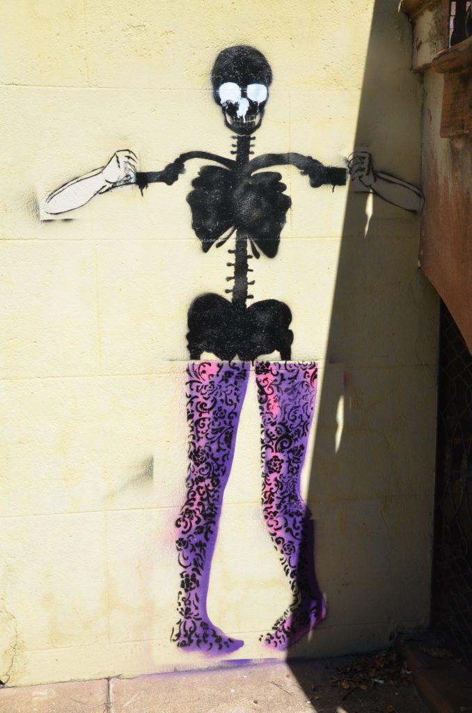 Street art in Savannah, Georgia