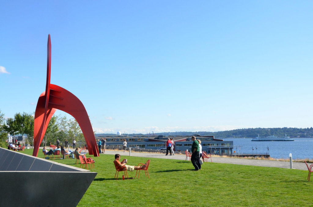 The Modern Art In Seattle 39 S Olympic Sculpture Park