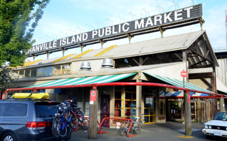 Granville Island Public Market in Vancouver
