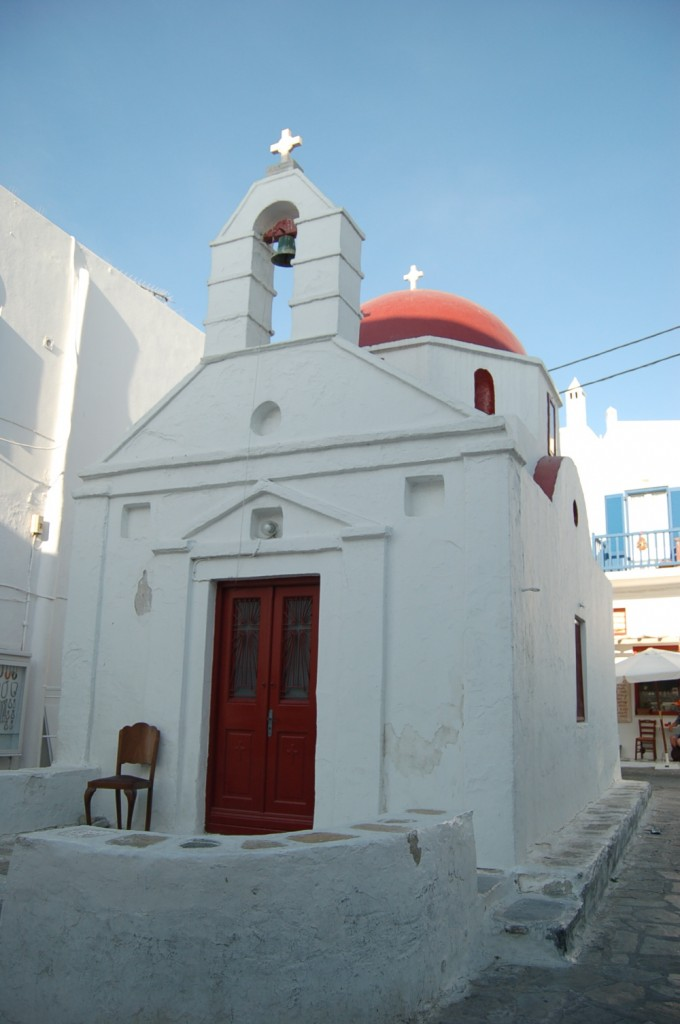 The White Washed Shores Of Mykonos Greece Maiden Voyage
