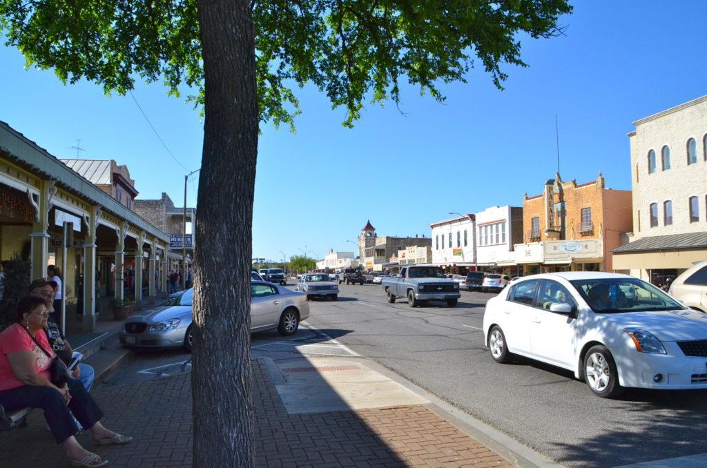 Main Street in Fredericksburg, Texas