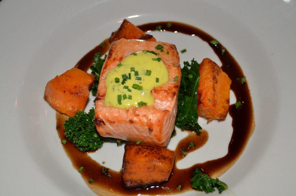 Salmon at Navajo Grill
