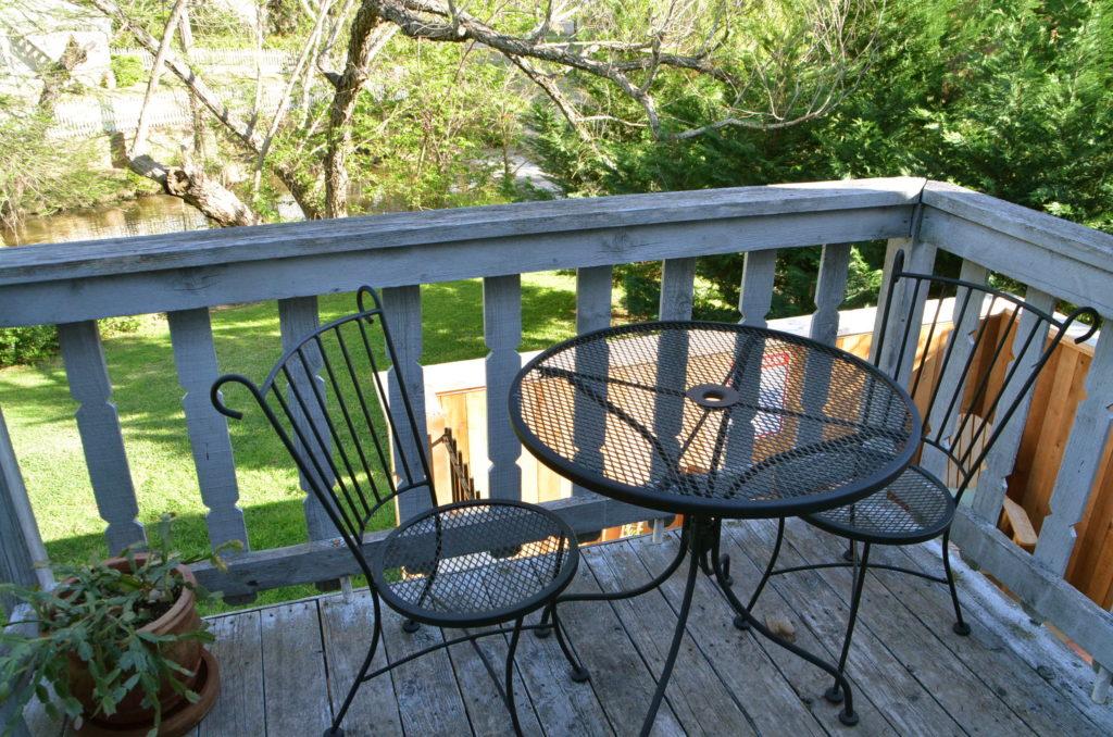 Deck at Along Shady Creek
