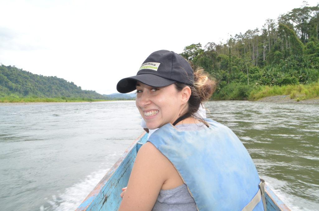 Olga in Costa Rica