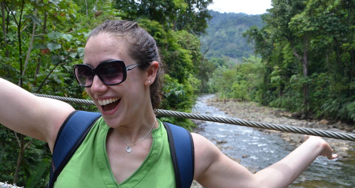 Emily in Costa Rica